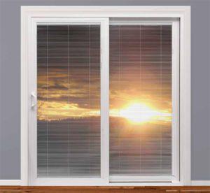 Vinyl Sliding Doors With Blinds Homestar Windows Amp Doors