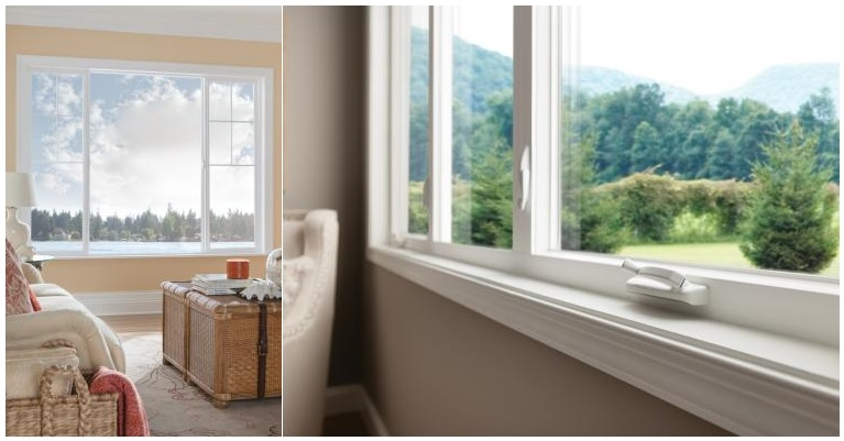 Vinyl Window Frame : Milgard styleline vinyl windows homestar doors
